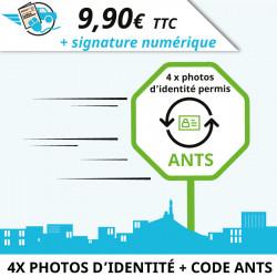 Photo d'identité pour permis de conduire agréé ANTS à Marseille
