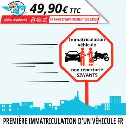 Démarche de première immatriculation d'un véhicule français d'occasion