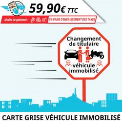 Changement de propriétaire : véhicule immobilisé (défaut CT/assurance)