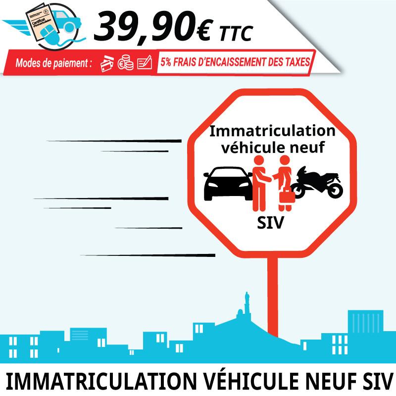 Première immatriculation d'un véhicule neuf en France