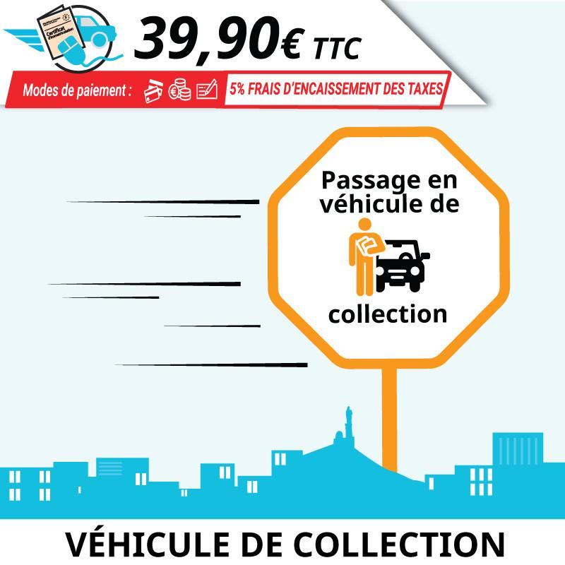 Obtenir sa carte grise collection (CGC) pour son véhicule à partir de 30 ans.